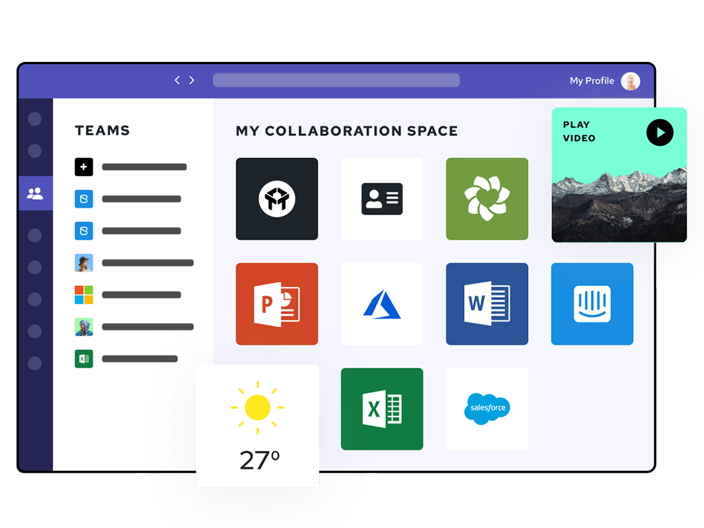 Simple to use apps for Microsoft Teams